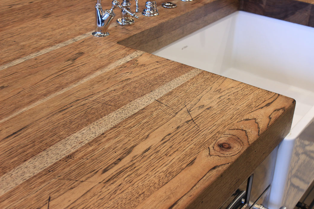 Marvelous Hickory Countertops