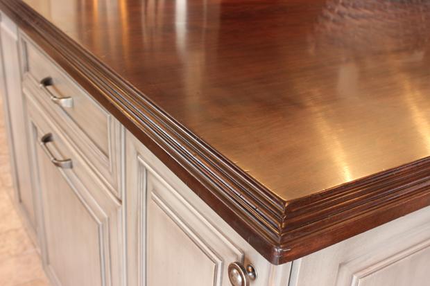 Hard maple countertops j aaron for Maple slab countertop