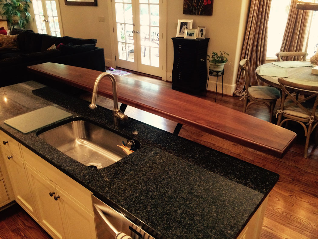 Kitchen Counter With Raised Bar