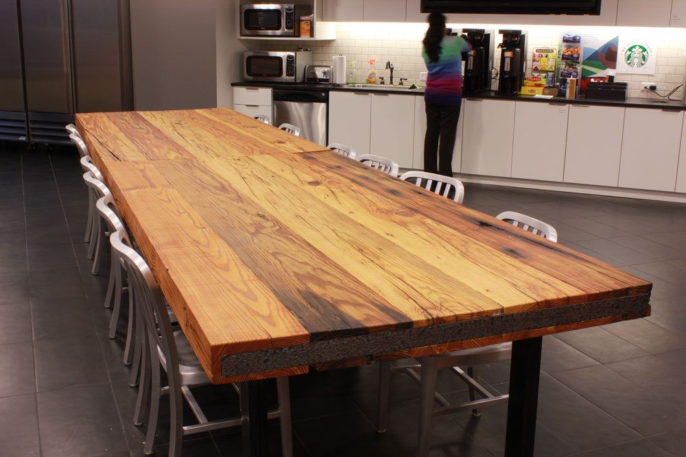 Reclaimed Wood Countertops reclaimed wood countertops - j. aaron