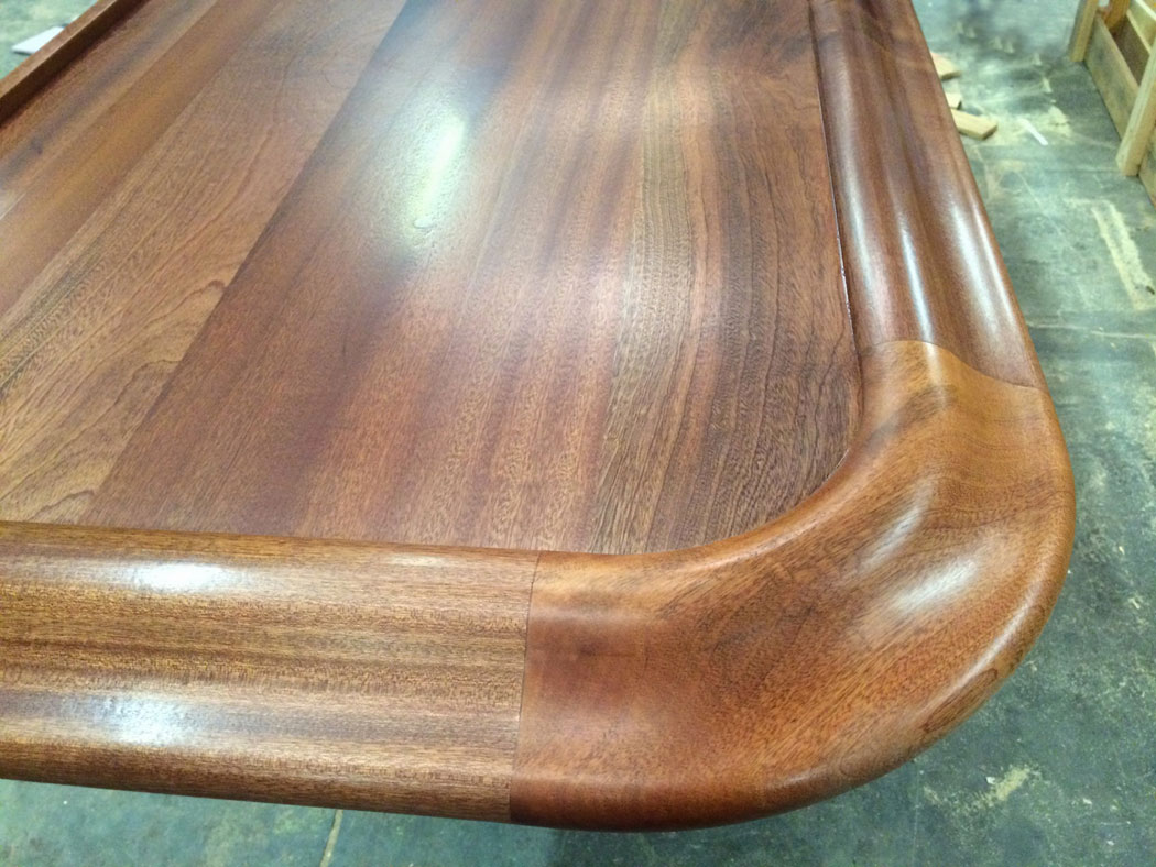 Exceptionnel Residential Wood Bar Top With Chicago Bar Rail