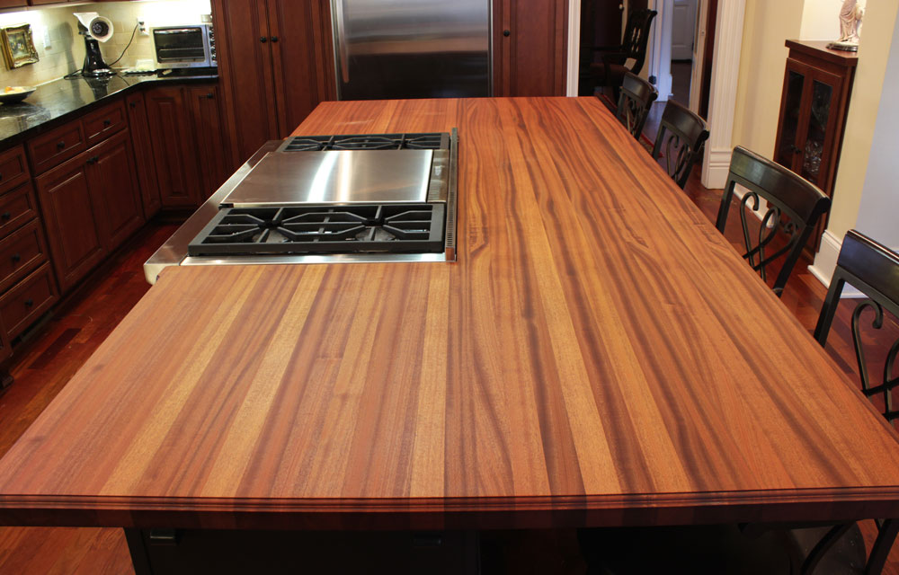 How To Refinish Wood Kitchen Countertops