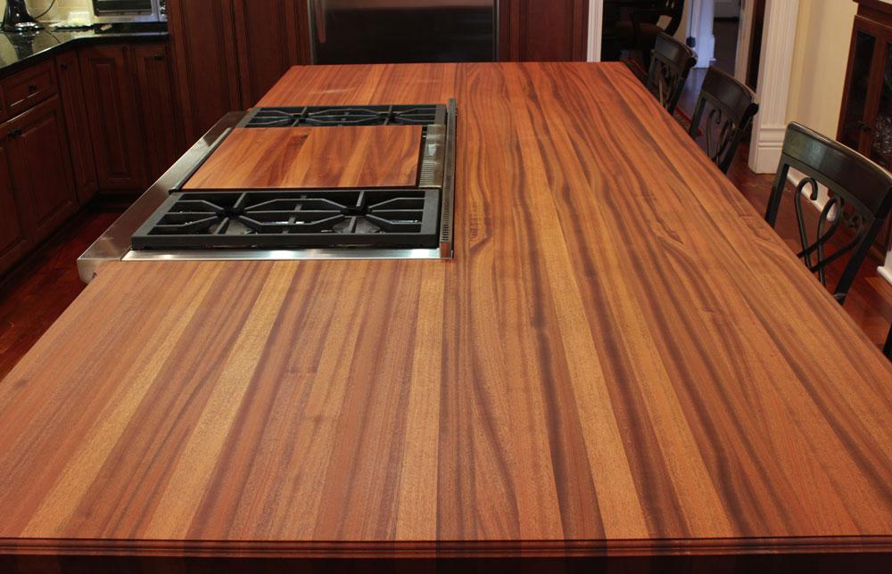 Mahogany Wood Kitchen Table