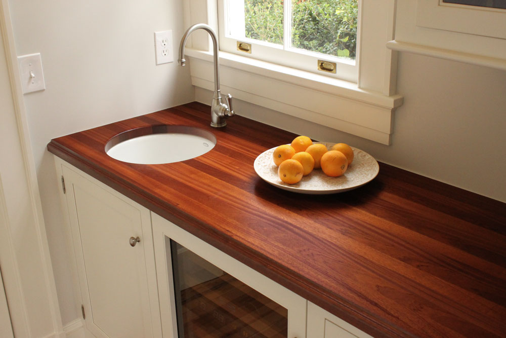 Wood Countertop Finish Options : Home / Wood Countertop Gallery / Wood Countertop Photographs / Sapele ...