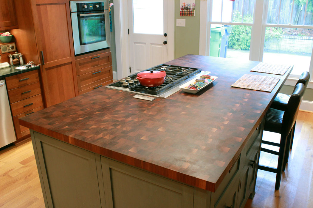 Best Finish For Butcher Block Countertop: Walnut Countertops