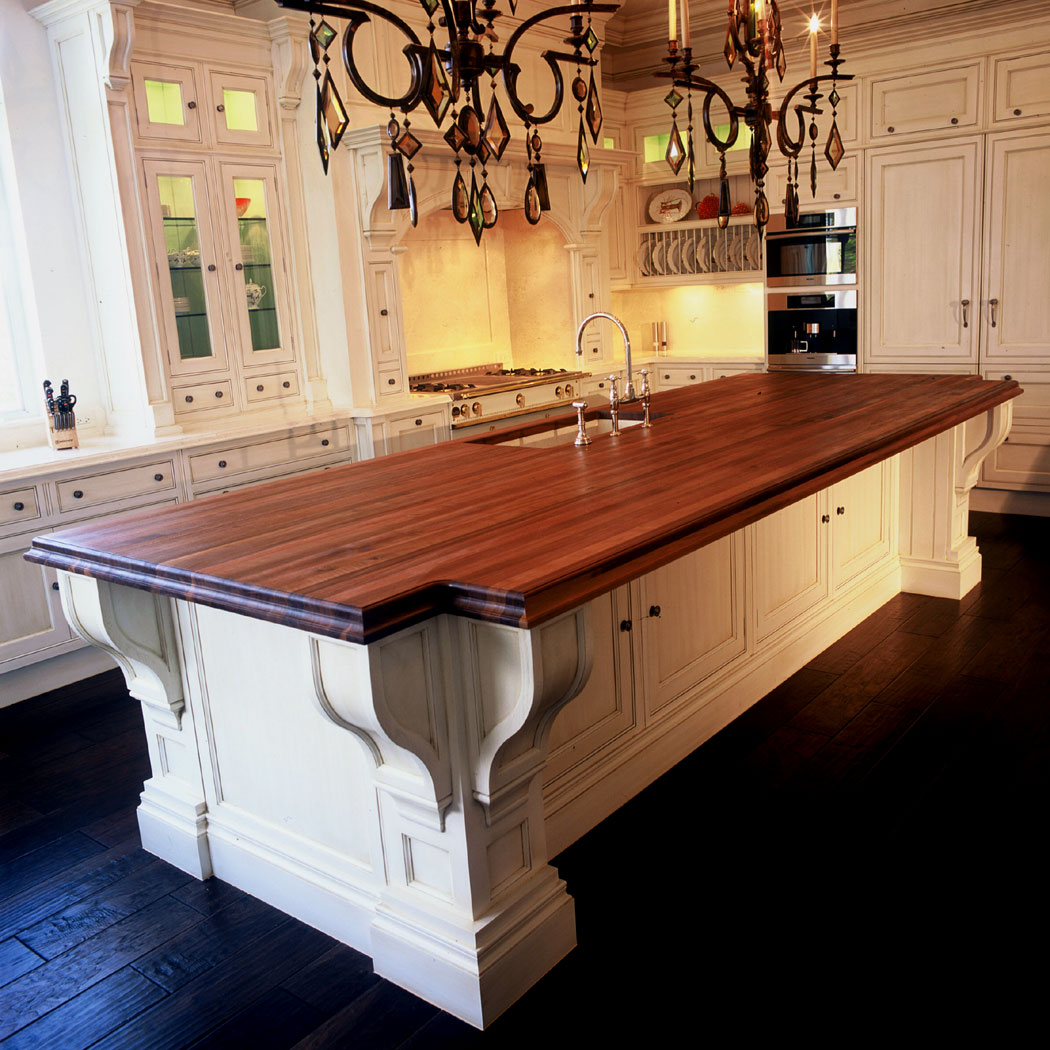Kitchen Island Countertops : Walnut countertops j aaron