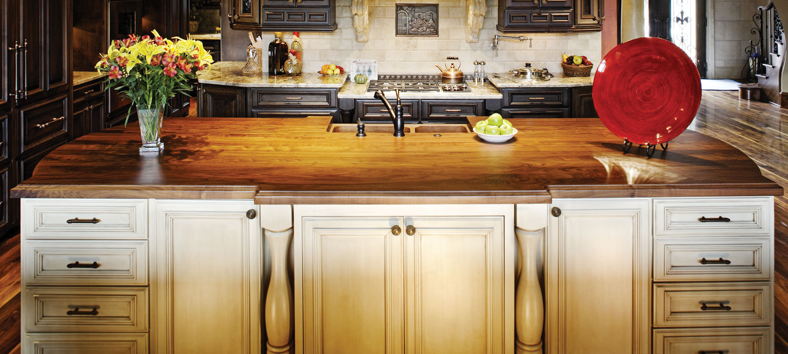 walnut kitchen island top - Kitchen Island Countertop