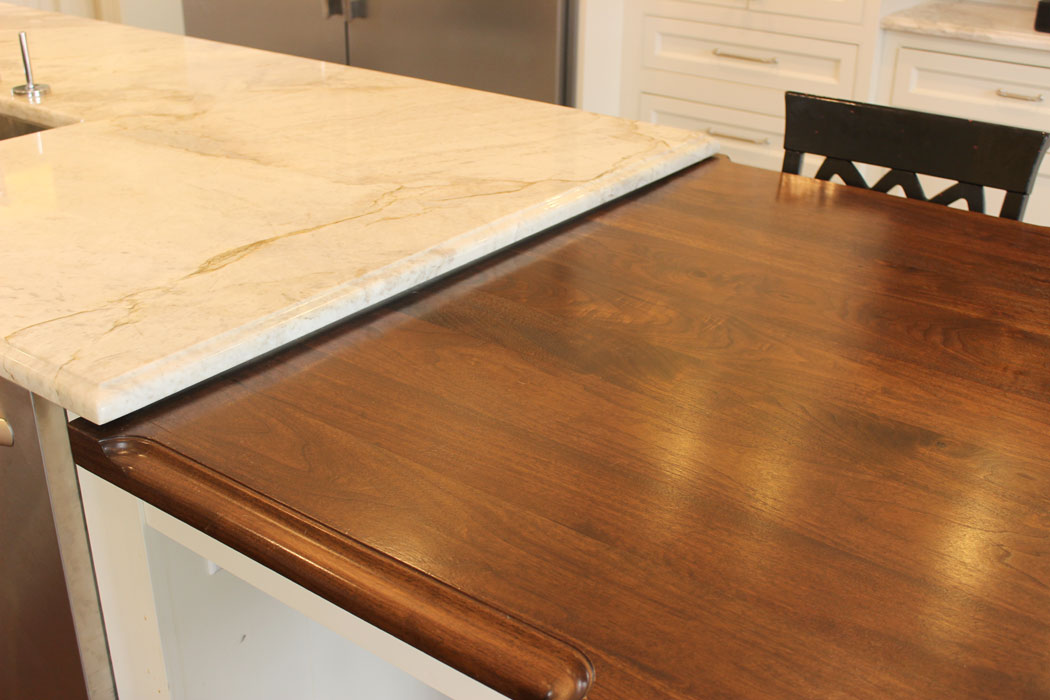 walnut kitchen island walnut countertops j aaron 3345