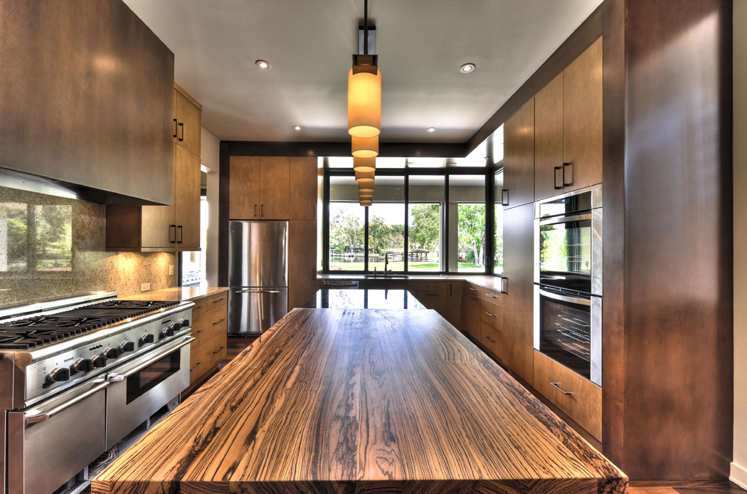 Zebra Wood Countertop Gallery