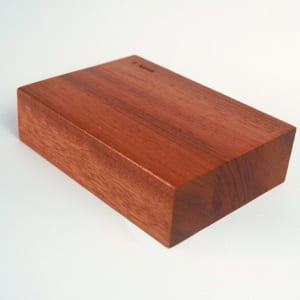 Wood Countertop Options: Eased Edge Profile