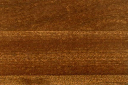 Butcher block sapele countertop