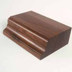 Wood Countertop Options: Torio Edge Profile