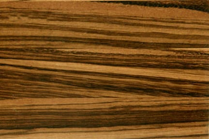 Edge Grain Zebrawood