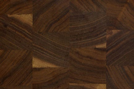 End Grain Walnut