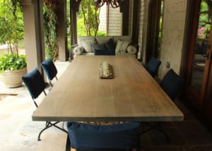 Weathered Wood Table Top