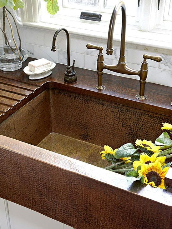 Wood Countertops With Sinks And Wet Areas | J. Aaron