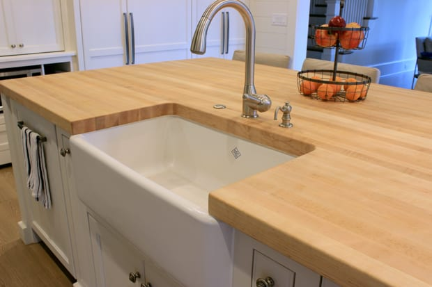 Steps in buying a wood countertop - J. Aaron