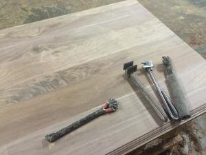 Countertop distressing tools
