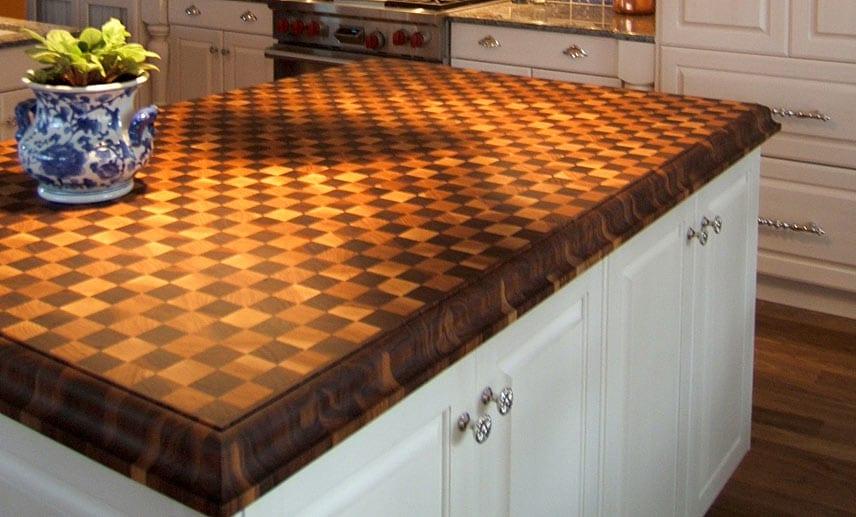 Checker Board Countertop
