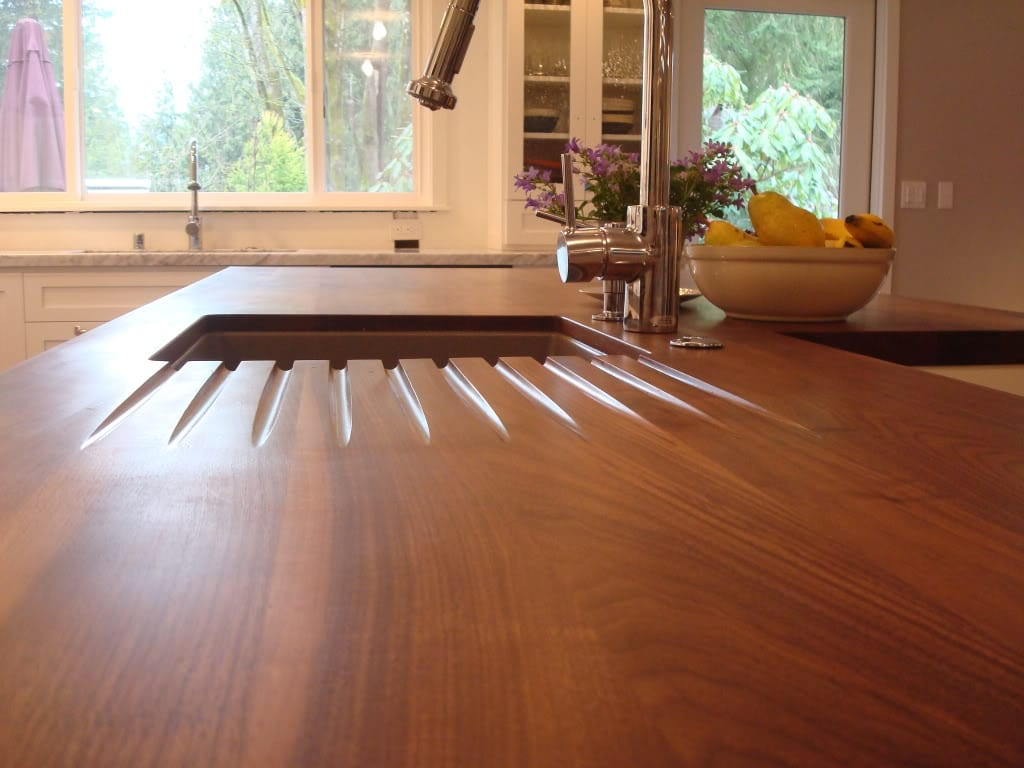Choosing a wood countertop sealer · gallery
