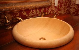Wood vanity top