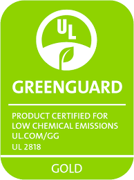 UL Greenguard Certified