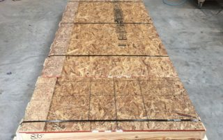 Fully crated and ready to ship wood countertop