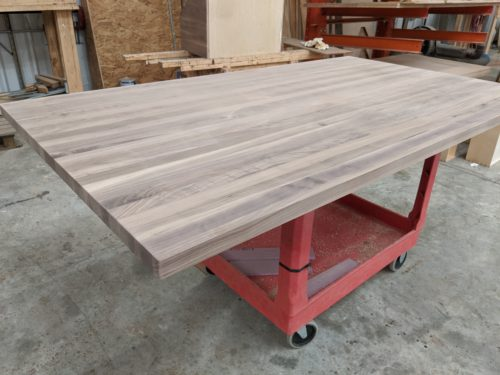 Walnut butcher block top for sale
