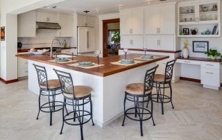 Jatoba island and countertops