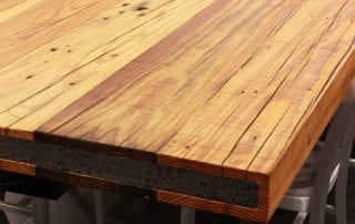 Reclaimed Heart Pine Table Top