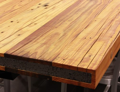Reclaimed Wood Countertops the pros and cons of using reclaimed wood - j. aaron
