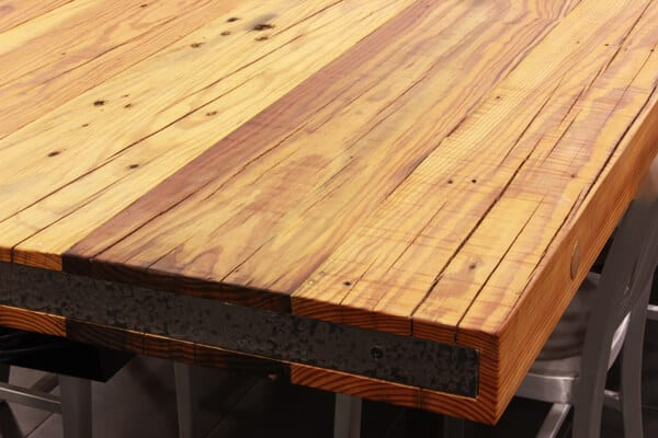 Reclaimed Wood Countertops